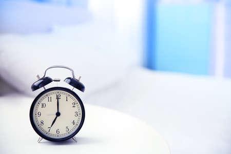 Alarm clock, closeup