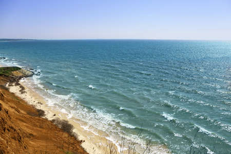 Beautiful ocean with clear sky