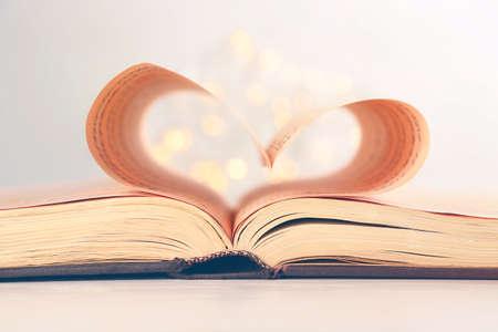 Heart shape music notes