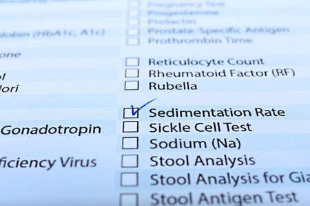 Prescripción de prueba de laboratorio