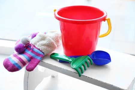 便の赤ちゃんのおもちゃ 写真素材 - 96048612