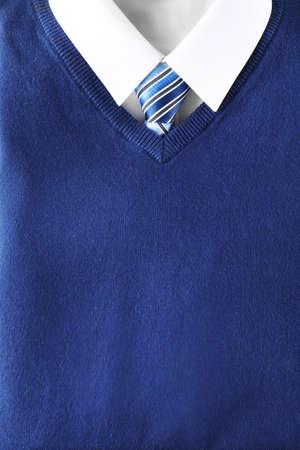 School uniform for boy, closeup Stockfoto