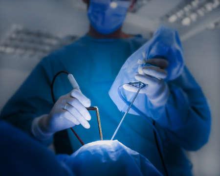 Betrieb des Patienten im modernen Krankenhaus Standard-Bild - 97810581