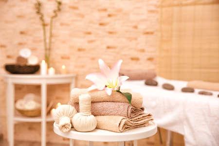 Massageeinstellung in der modernen Wellnessmitte