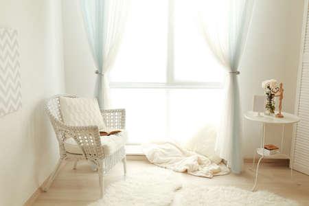 Interior of beautiful modern flat
