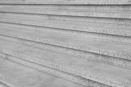 Modern marble stairs, closeup