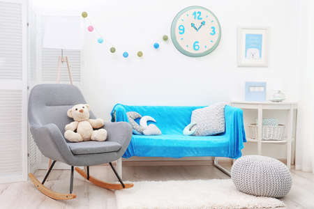 Beautiful interior of childs room