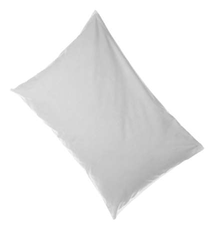 Soft pillow, isolated on white