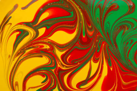 Abstract mixed paint background