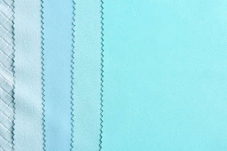 Fabric samples as background