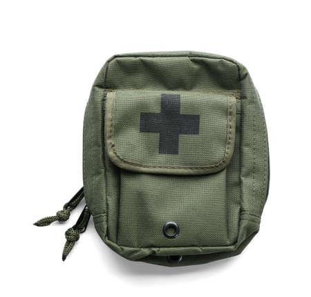 First-aid kit on white background Stok Fotoğraf - 105139246