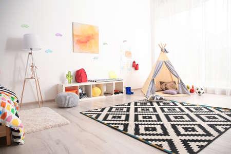 Modern room interior for child