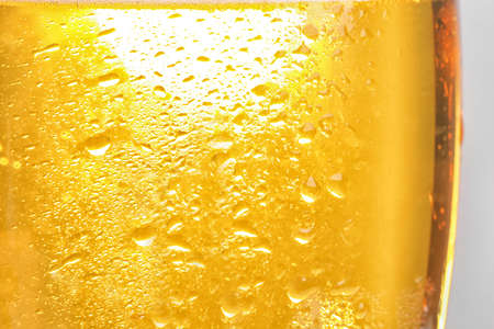 Glass of tasty beer, closeup. Alcoholic drink Stock Photo