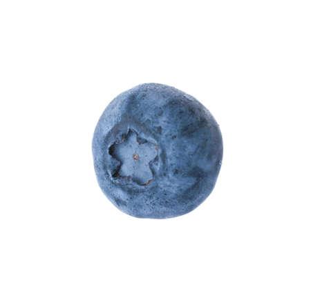 Fresh ripe blueberry on white background. Organic berry Фото со стока