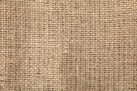 Sustainable hemp fabric as background, top view Stock Photo