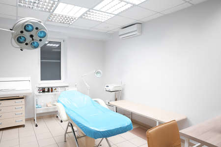 Interior of surgery room in modern clinic