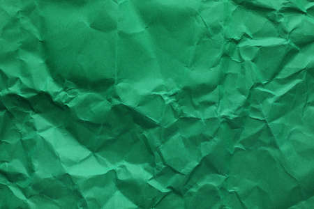 Sheet of color crumpled paper as background. Space for design