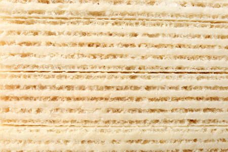 Closeup view of tasty wafer sticks as background. Sweet food Stock Photo - 128780530
