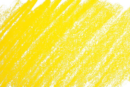 Yellow pencil hatching as background, top view