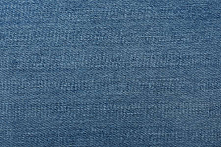 Texture of blue jeans as background, closeup