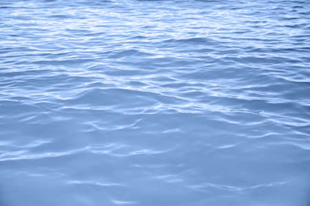 Beautiful sea water with waves as background