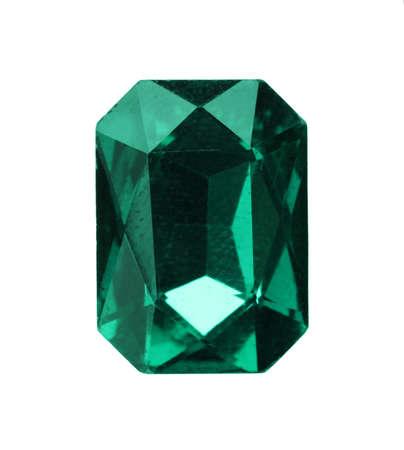 Beautiful gemstone for jewelry on white background Standard-Bild