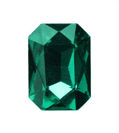 Beautiful gemstone for jewelry on white background Banco de Imagens