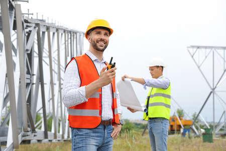 从事户外变电站安装的专业工程师