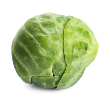 Fresh tasty Brussels sprout isolated on white Reklamní fotografie