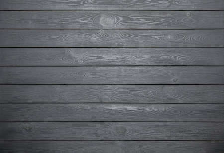 Texture of grey wooden surface as background, top view Stock Photo