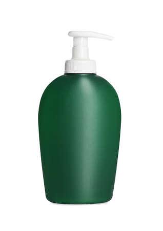 Bottle of shower gel isolated on white