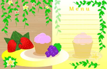 savory: Cafe menu design
