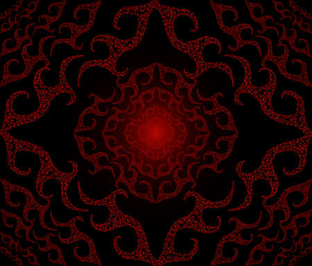 Beautiful crimson figured seamless, scalable  Illustration