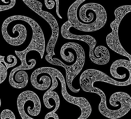 figured: Beautiful figured vector seamless pattern