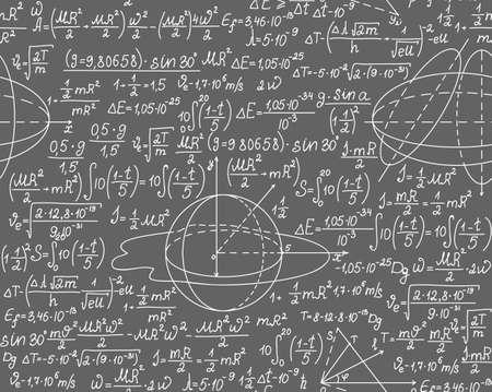 Vector Física textura transparente con fórmulas y cálculos Foto de archivo - 36903906