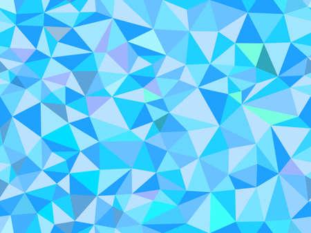 Polygon-Vektor abstrakte Dreieck nahtlose Muster. Endless Textur Standard-Bild - 38436753