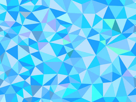 Polygonal vector abstract triangle seamless pattern. Endless texture