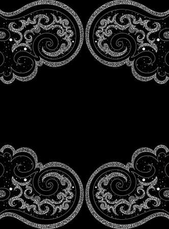 Abstract vector background with repeating decorative elements. You can use it as a seamless texture