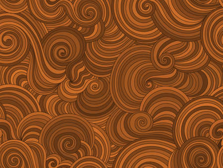 endless: Vector endless texture stylized as wood