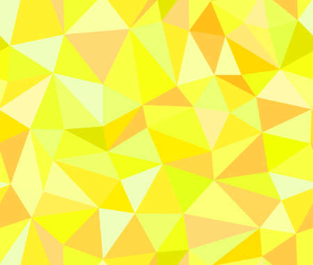 fallen: Geometric vector seamless background of yellow triangles Illustration