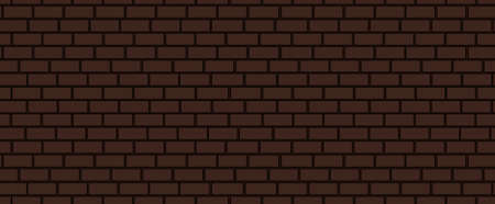 endless: Brown brick vector endless texture