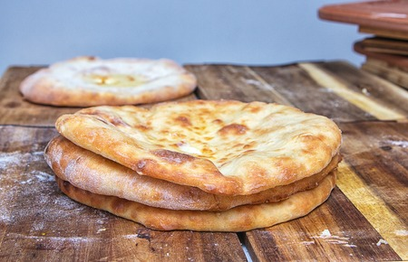 Tasty Bread products peoples of Central Asia and other eastern countries.