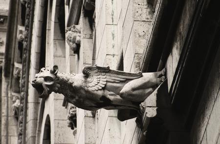 gargouille: Sacr� Coeur gargouille Banque d'images