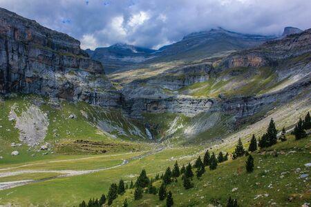 Monte Perdido valley in summer
