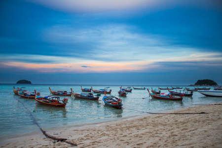 The sunrise at Sunrise beach, Lipe Island, Satun Province, Thailand