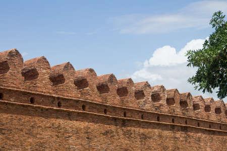 Old city wall of nakhon Si Thammarat, Thailand