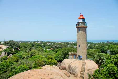 Lighthouse at Mahabalipuram, Tamil Nadu, India