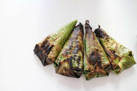 Thaise geroosterde kleverige rijst, Thais Dessert