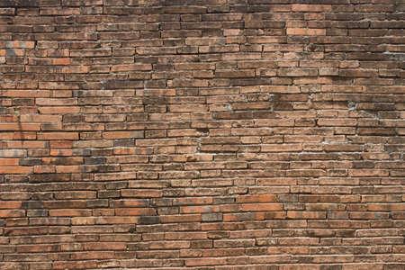 Old city brick wall in Nakhon Si Thammarat