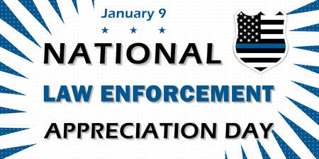 DAY OF APPLICATION OF NATIONAL LEGISLATION is traditionally celebrated on January 9, the Day of gratitude to law enforcement authorities and police.